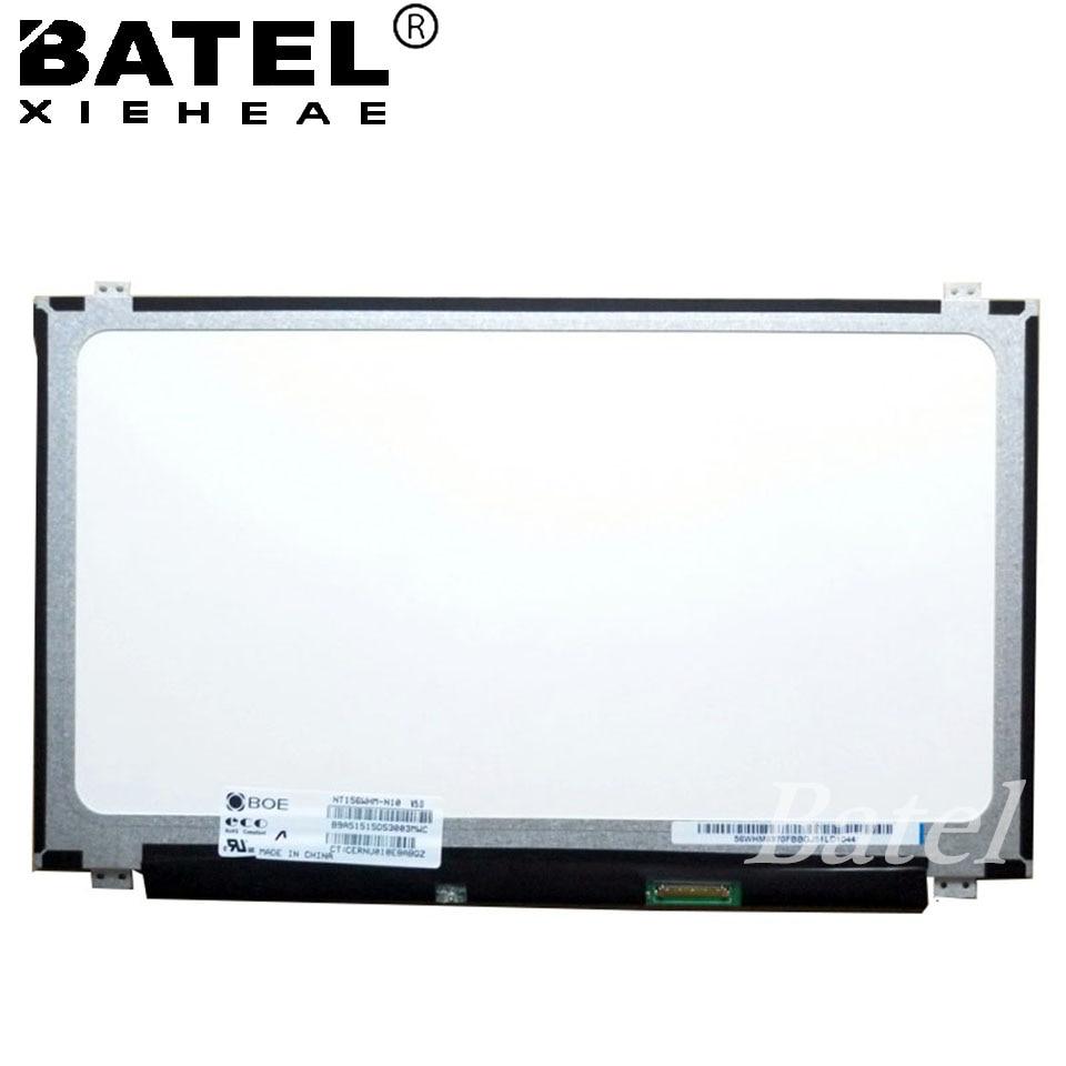 30Pin NT156WHM-N10 N12 N32 N12 1366x768 Glossy New 15.6'' Laptop Matrix LCD LED Screen 15 6 1366 768 edp 30pin lcd led laptop screen display nt156whm n32 n156bge lb1 l41 l31 e42 e32 nt156whm n12