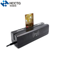 Bank System POS Chip+ IC +NFC+Mifare+MSR +RFID+Psam card Slot read And write Four Card All in one machine With SDK HCC80