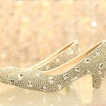 Роскошная леди формальные платья обувь девушка свадебное платье обувь свадебная обувь ближний каблука 5 см вечер юбилейном вечере ну вечеринку обувь