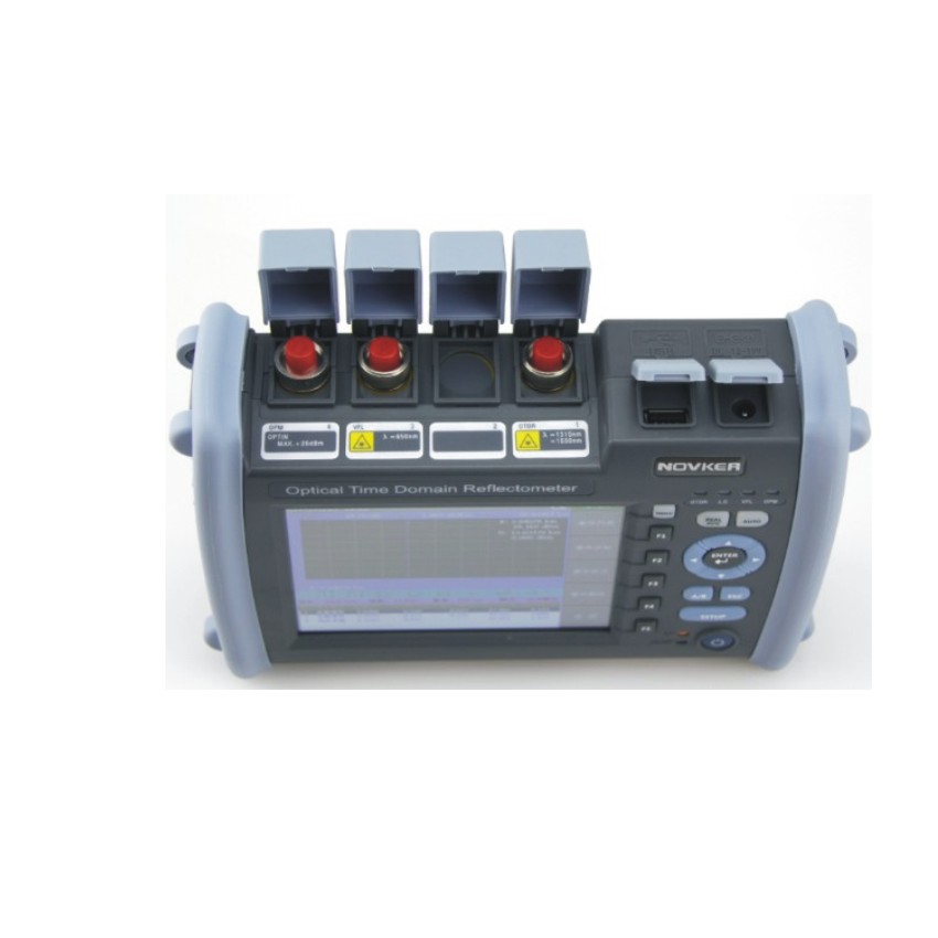 NK6000 OTDR Optical Fiber Breakpoint Detector with Built-in Visual Red Light for Locating Faults 1