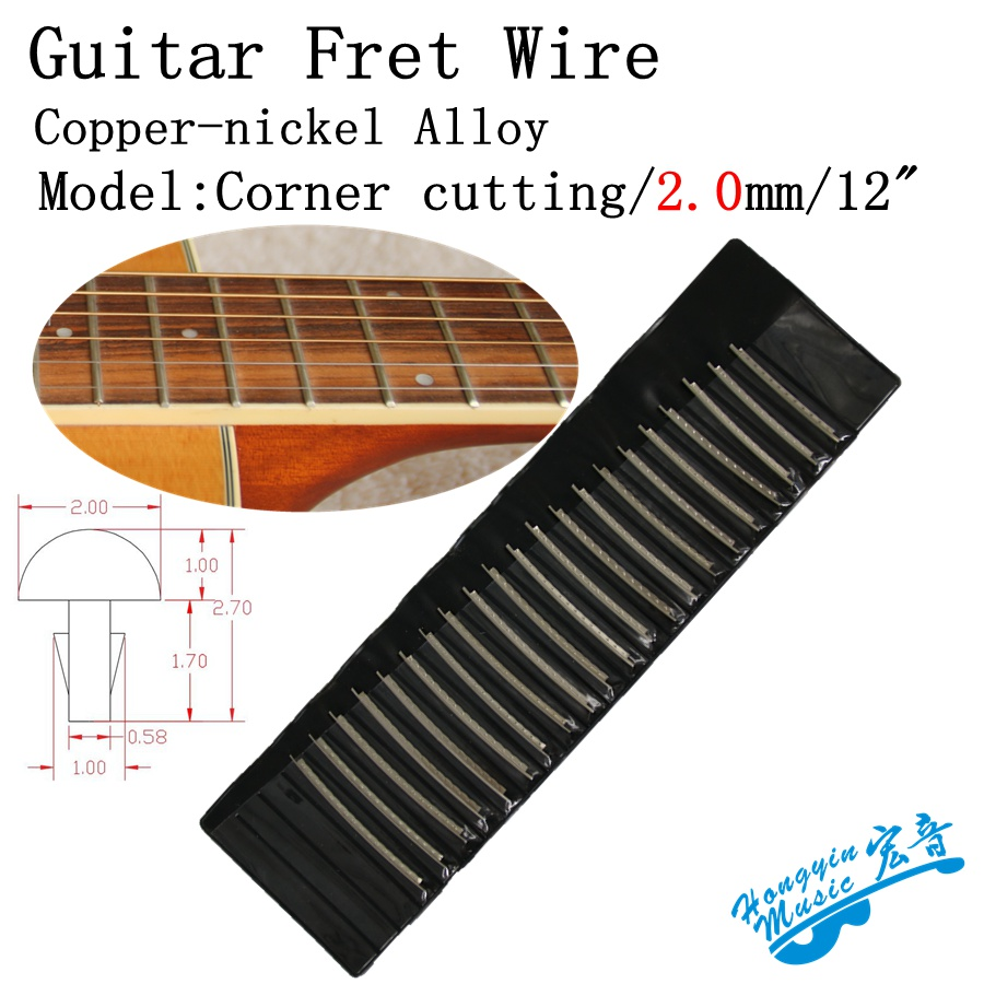 buy 21pcs fingerboard frets fret wire for acoustic guitar brass cupronickel. Black Bedroom Furniture Sets. Home Design Ideas