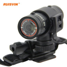 Hot sales Mini F9 Bike Camera HD Bike Motorcycle Helmet Sports Action Camera Video DV Camcorder Full HD 1080p Car Video Recorder(China)