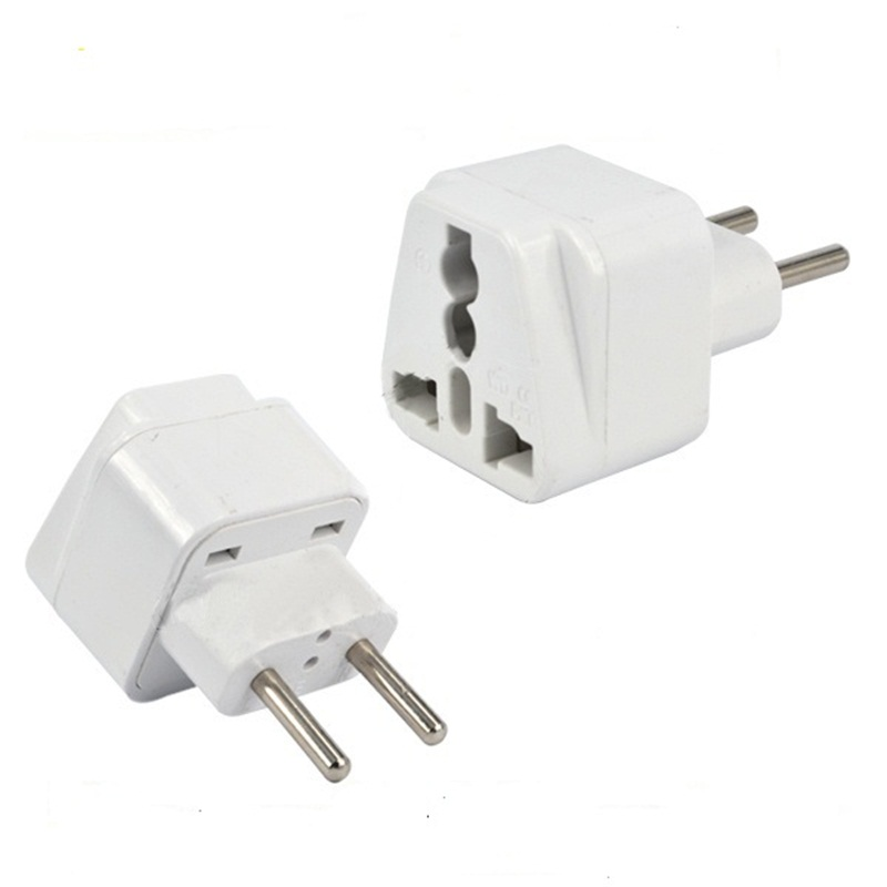 Universal AC 250V 10-16A AU US UK to 2 Round Pin EU Tavel Electrical Conversion Plug Adaptor Converter for Travel