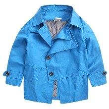 Hot sale new coat Boys reward Baby boy trench coat spring 2017 new coat cuhk kids's coat child garments