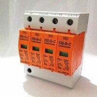 Surge Arrester 385VAC Combi Controller Surge Protector 7 50KA V25 B+C 4p