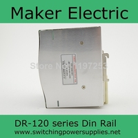 high power 120w DR 120 24 din 24v din rail single output switching power supply