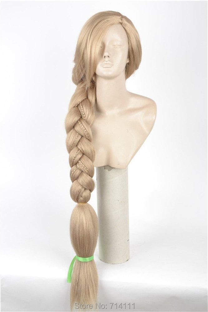 Купить парик с длинными волосами как у рапунцель