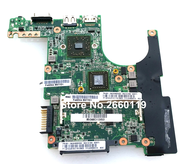 ФОТО 100% Working Laptop Motherboard For Asus Eee PC 1015B Main Board Fully Tested and Cheap Shipping