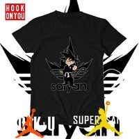 Bola de Dragón t camisa super saiyan dragonball z dbz goku Vegeta aire camiseta hombres/mujeres/niños larga para chicos teen
