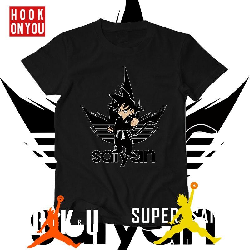 dragon ball t shirt super saiyan dragonball z dbz goku Vegeta AIR t-shirt men/women/children larga for boys teen