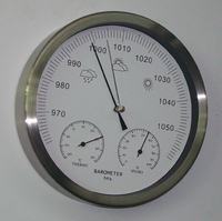 Mechanical Aneroid Barometer Hygrometer Thermometer 200mm(8inchs) diameter weather station home decoration gift