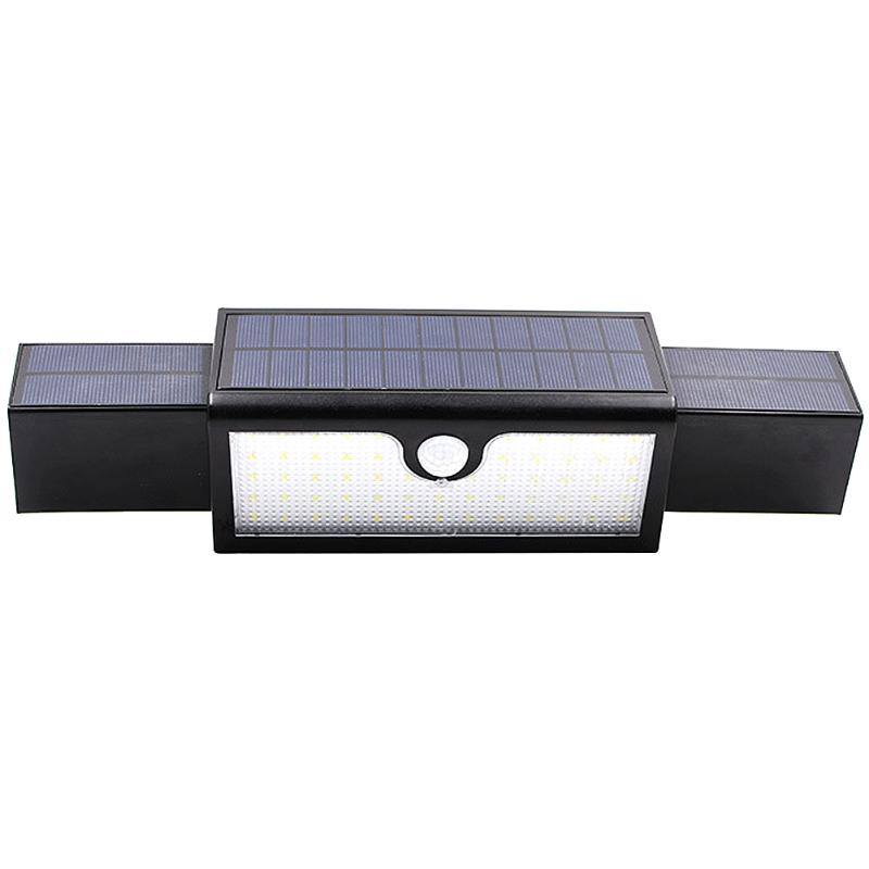Human Induction LED Solar Wall Light 71 LED Outdoor Waterproof Energy Saving Home Garden Lights with Solar Panels Security Lamp super bright outdoor waterproof human body induction led solar energy wall lamp
