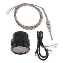 1 комплект Автомобильный Универсальный светодиодный датчик температуры