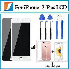 AAA+++ Grade For iPhone 7 Plus LCD With 3D Touch Screen Digitizer Assembly Pantalla Replacement Ecran Display Free Shipping