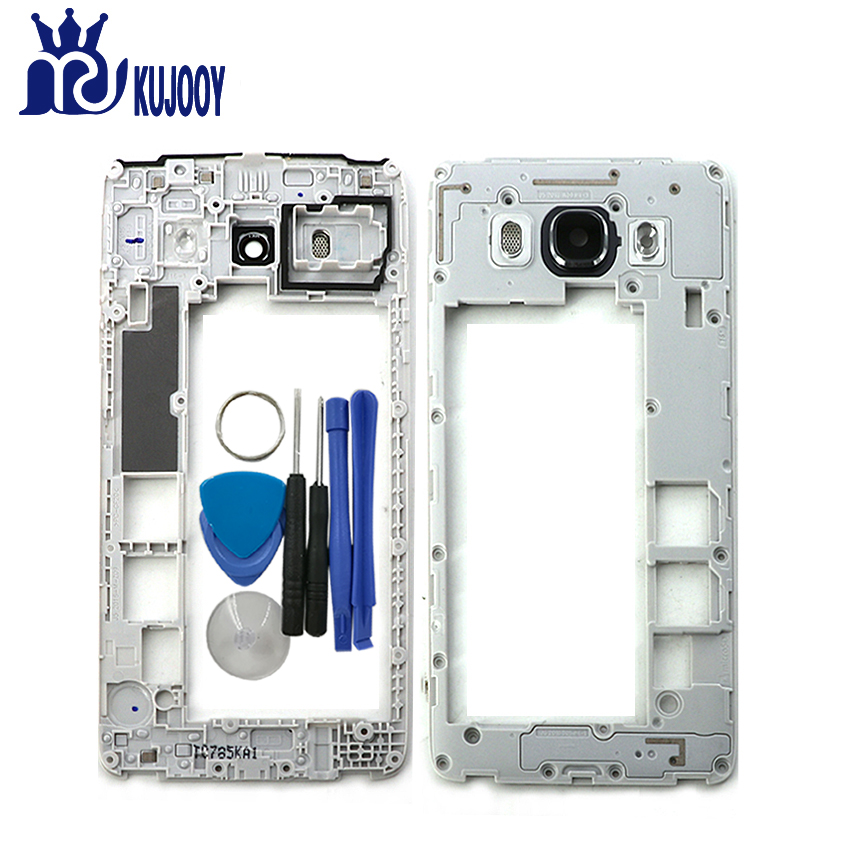Middle Frame For Samsung Galaxy J5 J510 J7 J710 2016 Mid Plate Bezel Housing Cover With Tools