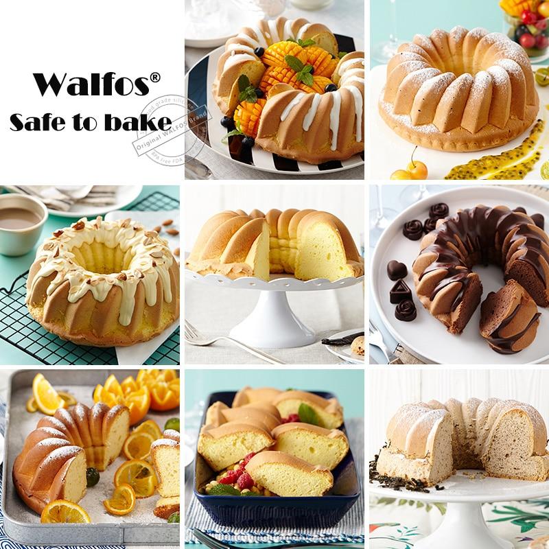 WALFOS grado alimenticio de silicona mousse molde de gran tamaño - Cocina, comedor y bar - foto 3