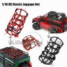 RC Car Accessories 1:10 Rock Crawler Elastic Luggage Net for Axial SCX10 90046 D90 TRX-4 RC Truck Crawler RC Parts rc rock crawler 1 10 accessories tow hook