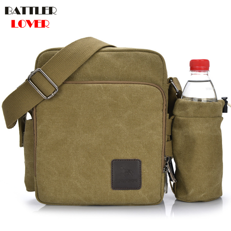2019 Fashion Solid A++ Canvas Travel Outside Bags Buckle Casual Portable Briefcases Bag American Trend Simple Pack For Men Women