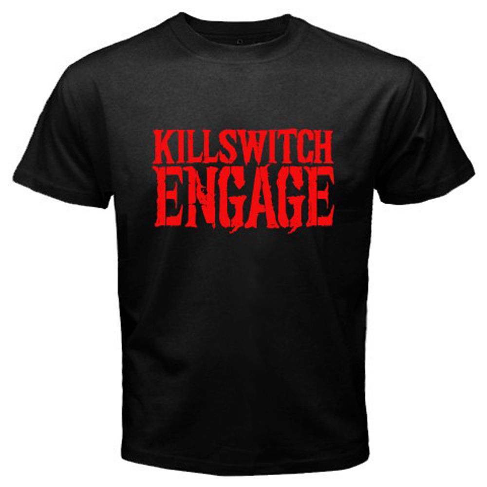 Killswitch Engage Metalcore Band Men's Black T-Shirt Size S M L XL 2XL Summer Short Sleeves Fashion T Shirt Free Shipping image