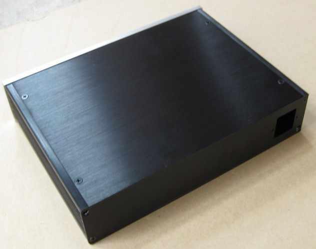 2806 полное алюминиевое шасси/предварительно усилитель шасси/цифро-аналоговый преобразователь, шасси/усилитель корпус/amp шасси/коробка (280*62*211 мм)