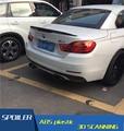 Para BMW M4 F32 Spoiler De Fibra De Carbono de Alta Qualidade Material Estilo Spoiler Spoiler Para BMW M4 F32 420i 428I 435I Saqueador De Carbono