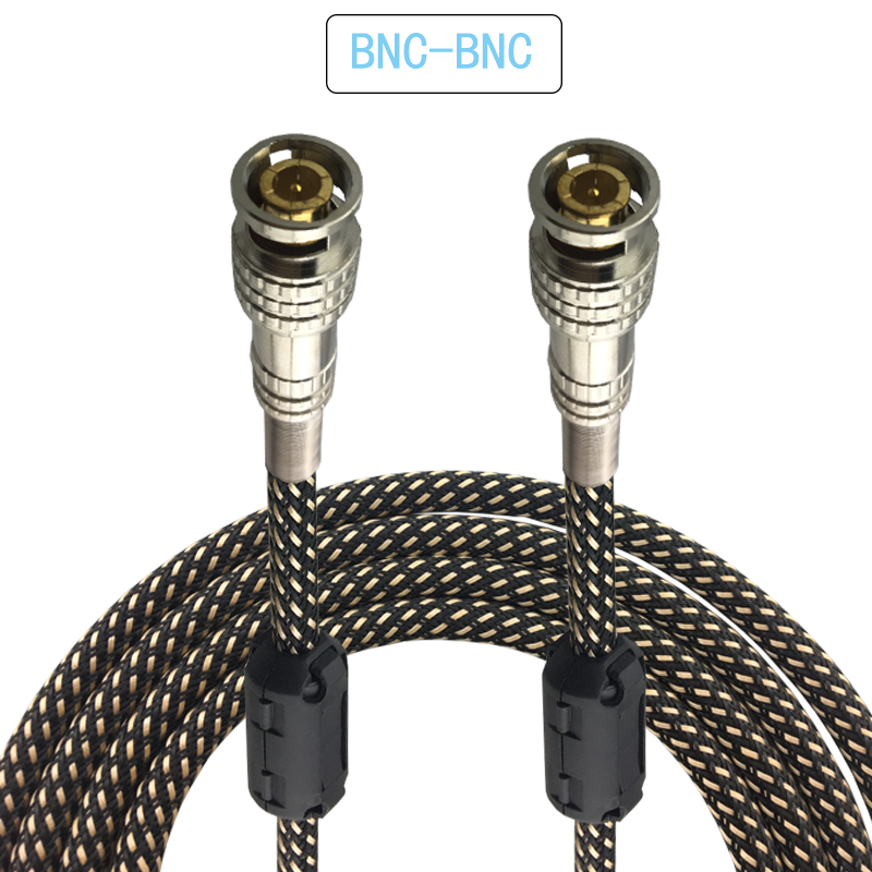 HD Q9 BNC to BNC Coaxial Video Cable Camera Monitor Interconnection Cable for Video Camera Display Security line OFC 1M 2M 3M 5M