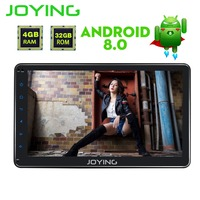 JOYING PX5 8 Octa Core 4GB RAM 10.1'' Android 8.0 single din Stereo GPS Navigation Bluetooth Touch Screen Universal Car Radio