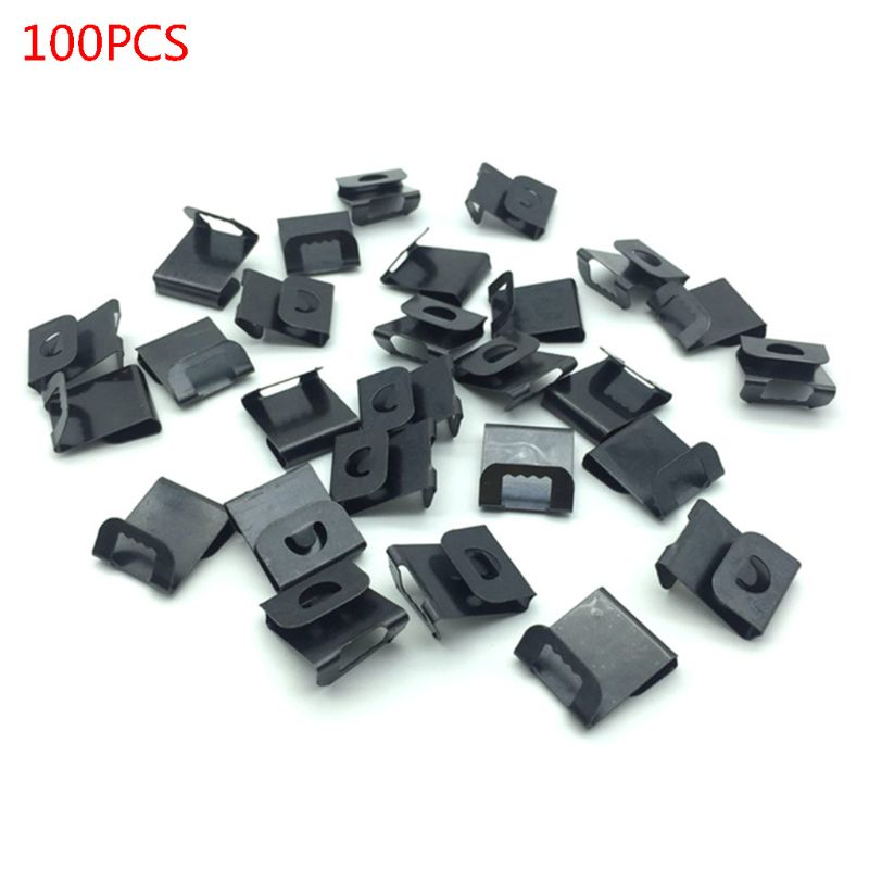 100pcs Picture Frame Back Board Photo Wall Artwork Painting Sawtooth S Clip Over Hanger Hook Holder Hanging Tools
