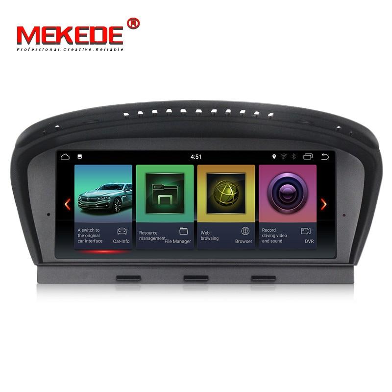 8.8 Quad Core Android 7.1 Car DVD For BMW 5 series E60 E61 E63 E64 3Series E90 E91 With GPS Audio Radio iDrive Steering wheel