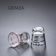Giemza Black Line Ml Glass Measuring Cup Oz Liquid Measurement 1pc Small Multiple Scales 45ml 30ml One Cup