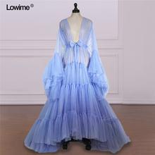 Платье женское вечернее ТРАПЕЦИЕВИДНОЕ с длинным рукавом и шлейфом