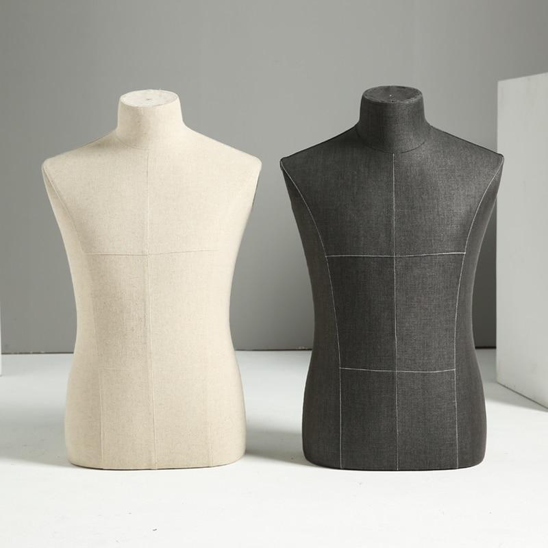 Requisiten halben Körper männliche Schaufensterpuppe Kleiderbügel - Kunst, Handwerk und Nähen - Foto 5