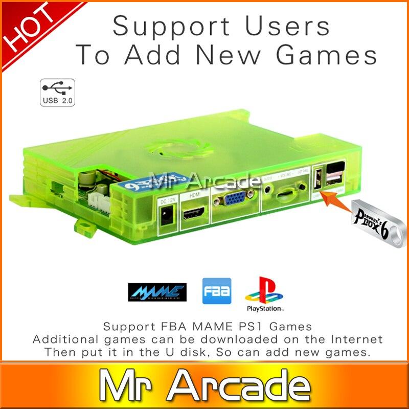Pandora Box 6 1300 in 1 family Version HDMI VGA Output Game Board For Arcade Machine