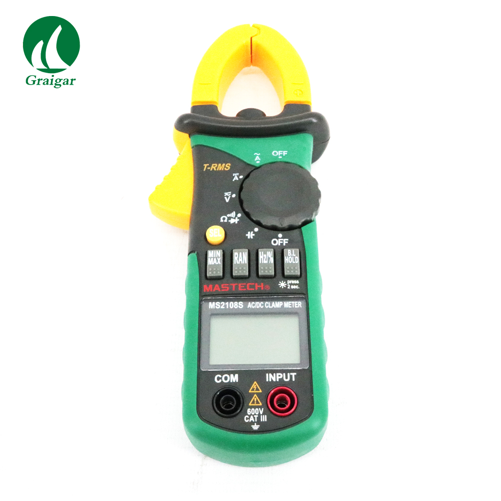 High quality MS2108 True RMS DC Current Digital Clamp Meter