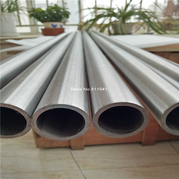 Grade 5 Titanium SEAMLESS tube Gr.5 Gr5 ttanium pipe OD35mm Inner 30mm thickness 2.5mm Length 1500mm,free shipping