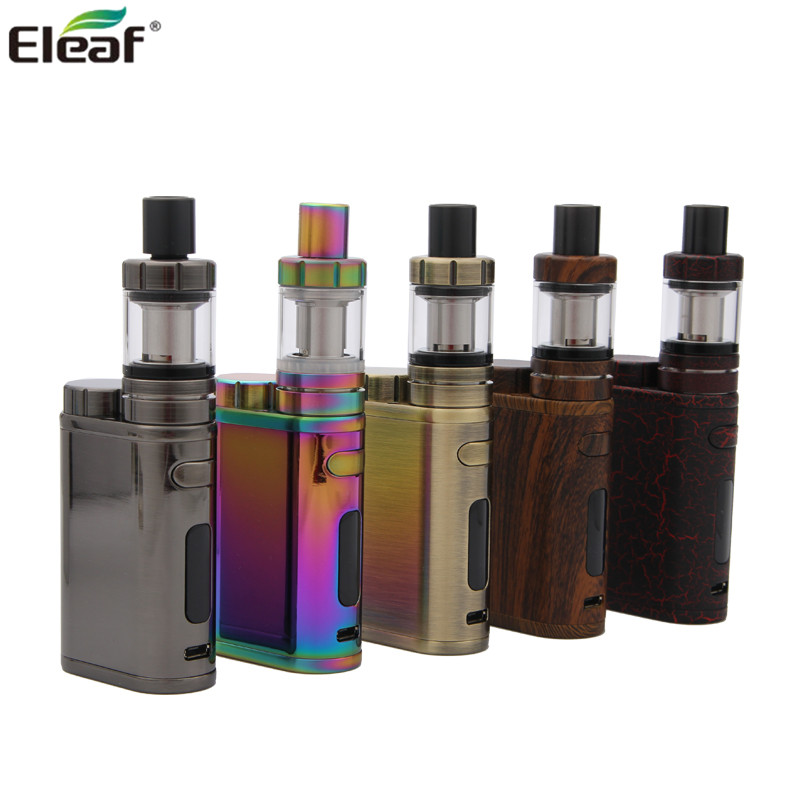 цена на 100% Original Eleaf iStick Pico 75W Starter Kit with 2ml melo 3 mini tank VW/Bypass/TC/TCR Modes New Colors