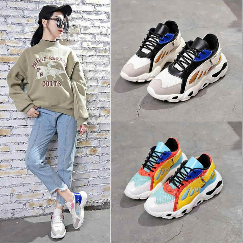 82415939d9bb GYP New High quality women sneakers sport shoes walking shoes 2018 autumn  ins the hottest butterfly