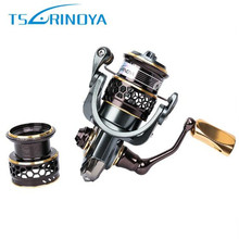 TSURINOYA Jaguar 1000-3000 Spinning Fishing Reel 5.2:1/9+1BB Double Spool Fishing Reels Moulinet Peche Carp Reel Hot Wheels