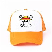 Niños adultos una pieza gorra de béisbol lindo japonés Anime Cosplay  sombreros muchacho cráneo Trafalgar Law b758214e3f0