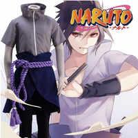 Hot Anime Naruto Sasuke Uchiha 4nd Cosplay Kostüm Ninja Sasuke Uchiha 4nd Halloween Party Cosplay Kostüm