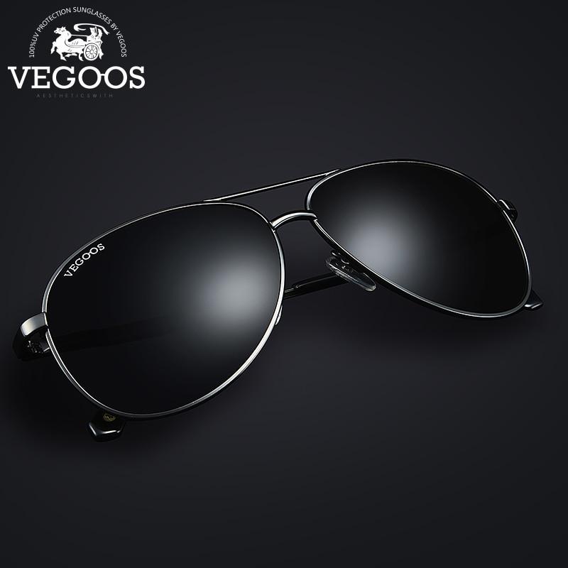 VEGOOS 2016 New Fashion Pilot Polarized Men Sunglasses Man Pilots Aviation Brand Designer Sun Glasses 3120