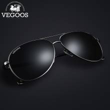 VEGOOS 2016 New Fashion Pilot Polarized Men Sunglasses Man Pilots Aviation Brand Designer Sun Glasses 3120