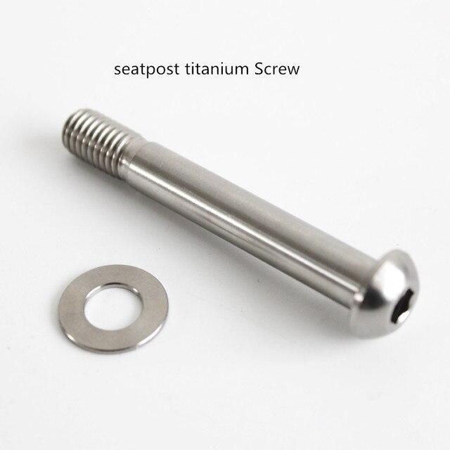 Seatpost screw titanium for brompton folding bike 12g lightweight