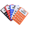 Foldable Mini Calculadora Soft Keyboard for Office use Solar Power Student Calculator Silica Gel Fashional Gift