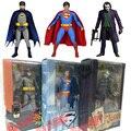 NECA DC Classic TV Series 1966 Batman Superman The Dark Knight The Joker 16cm 3*Style Cartoon Anime Toy PVC Figure Model Gift