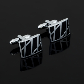 newest Luxury Fashion Black stripes Cufflink For Mens&Women High Quality Vintage Antique France Shirt Cuff Links For Men Jewelry