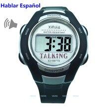 fdf7529d180 Falando Relógio para Cegos e Idosos espanhol Falar de Esportes Eletrônicos  Relógios
