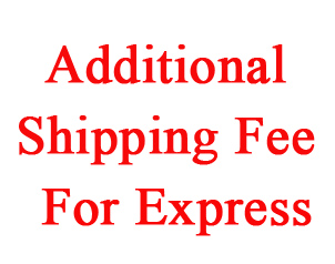 Additional fee for expedited shipping