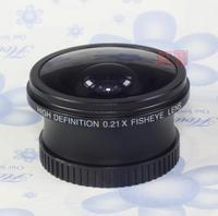 0.21x 37mm Wide Angle fisheye LENS for 37 mm 0.21 DSLR/SLR Digital Camera