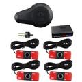 Car Parking Sensor System Parking Detector Reversing Radar with 13mm Flat Original Small 4 Sensors with Buzzer